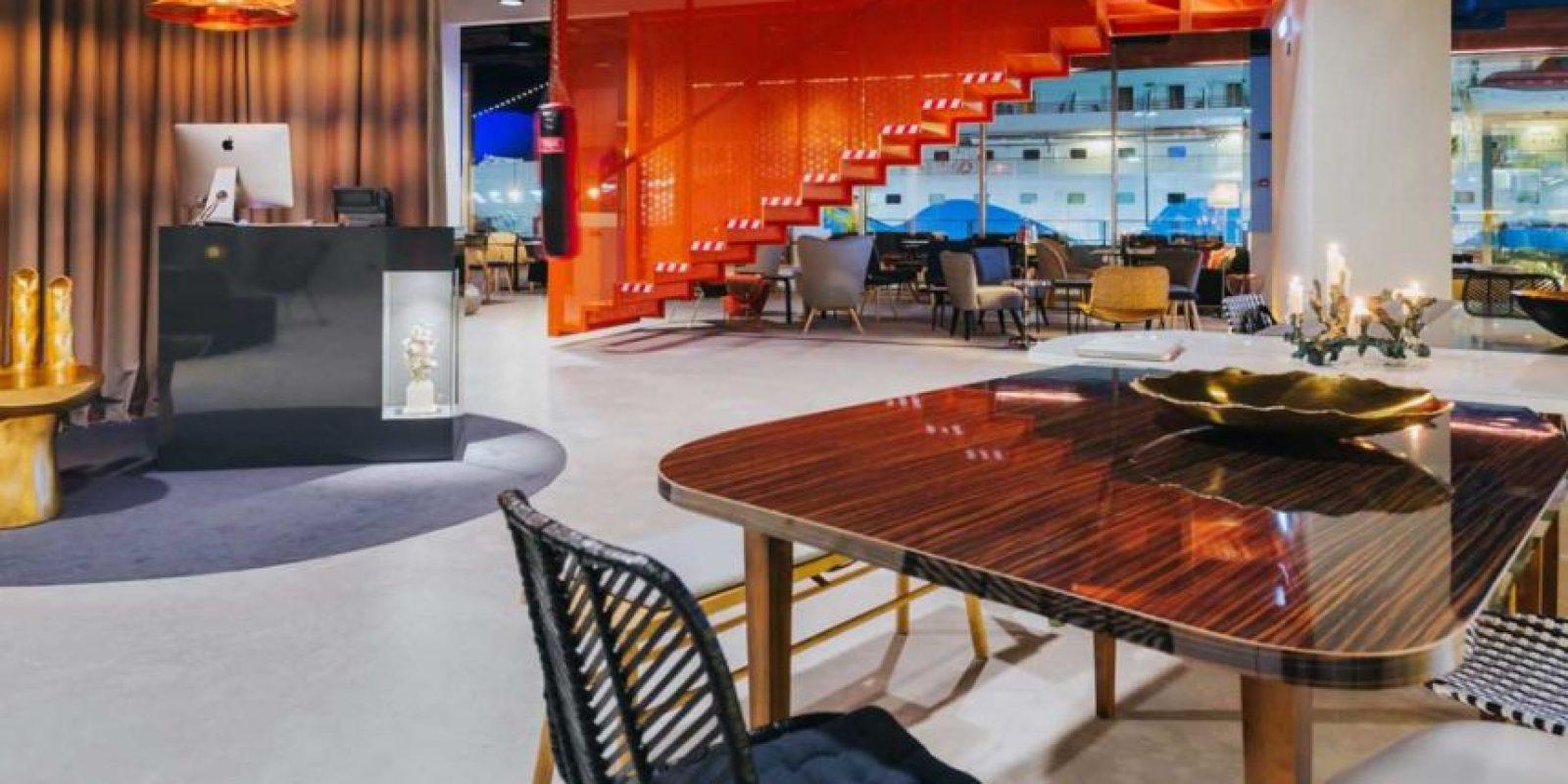 El hotel boutique está catalogado con cinco estrellas Foto:Sitio web Pestana CR7