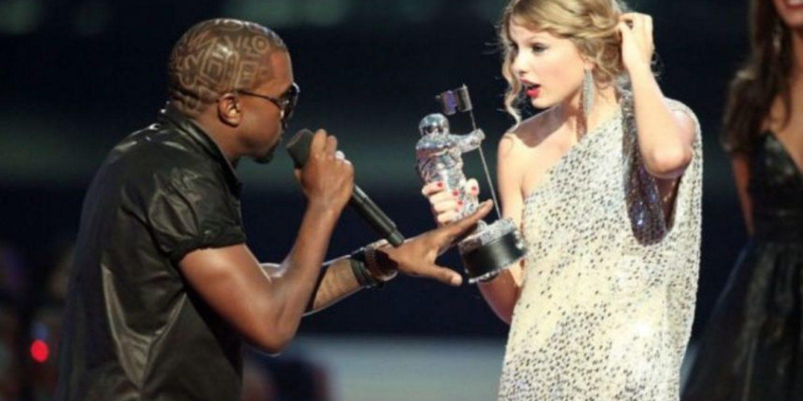 """Kim Kardashian fue quien reavivó el """"pleito"""" entre Kanye West y la rubia. Foto:Getty Images"""