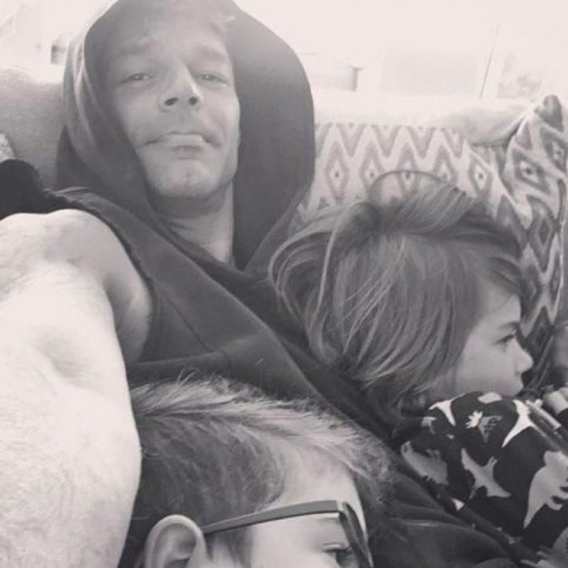 Ricky Martin comparte fotos de los momentos que pasa con sus hijos en Instagram Foto:Instagram/@rickymartin