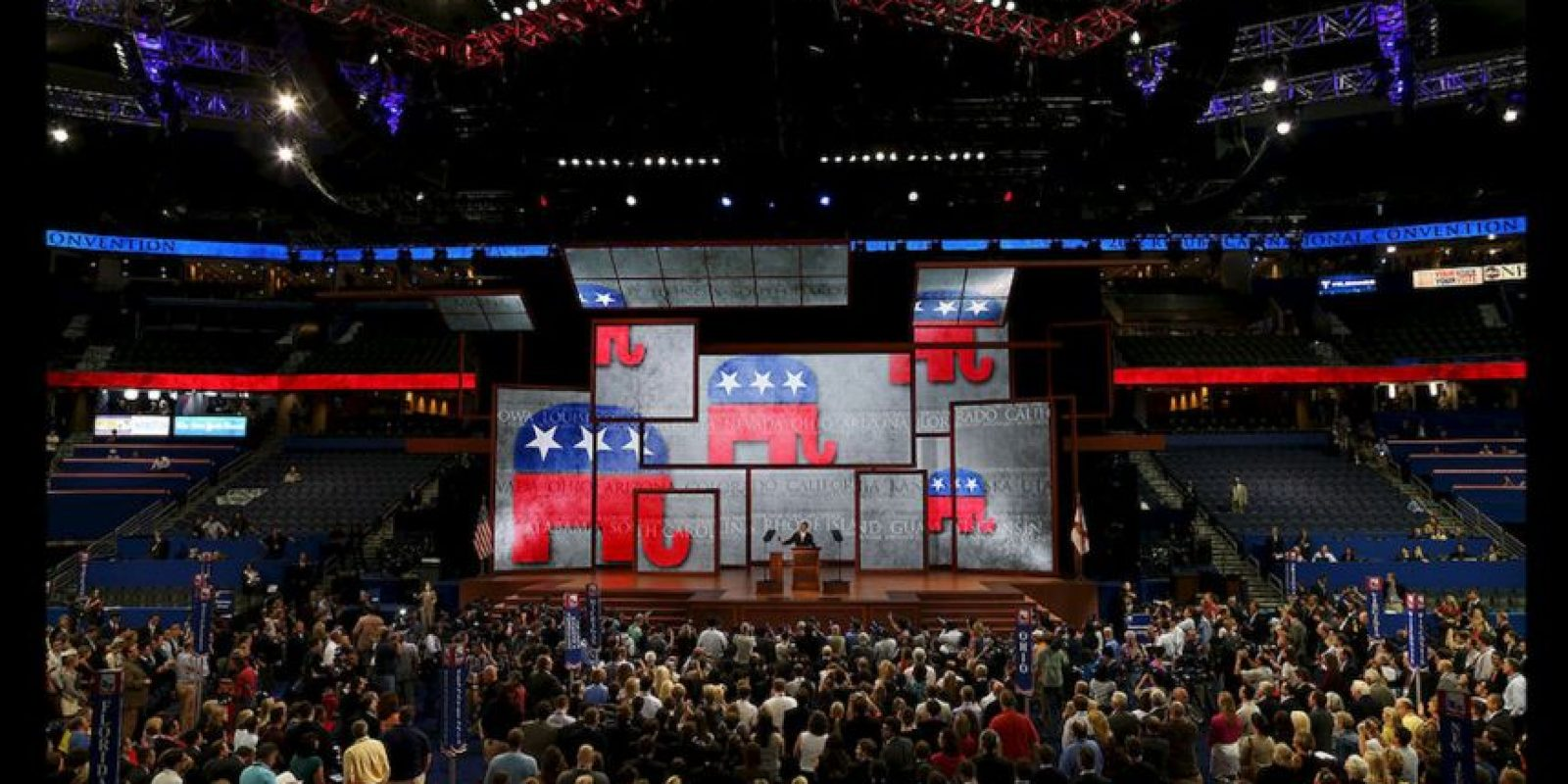 """Dentro del electorado republicano no existe el racismo, la xenofobia ni la exclusión, porque todas las clasificaciones anteriores están cobijadas bajo el término """"seguridad nacional"""". Foto:Getty Images"""