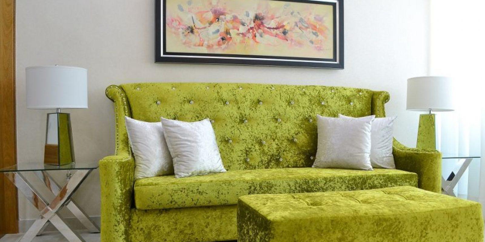 """""""Family Room"""" con colores electrizantes quedespiertan la imaginación. Foto:Mario de Peña"""