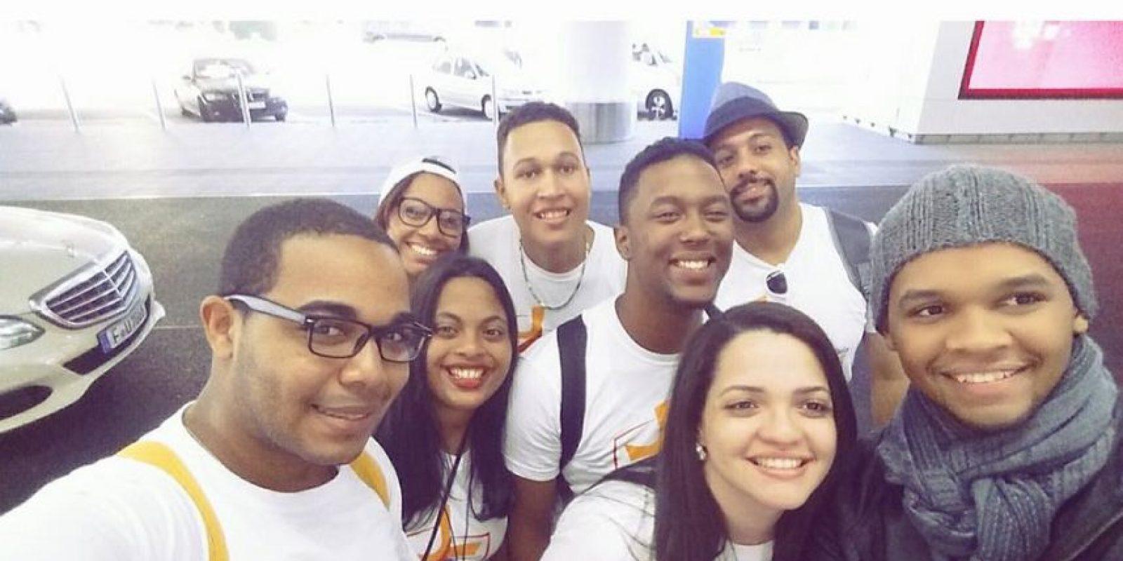 A la última JMJ, realizada en Brasil (2013) asistieron alrededor de 800 jóvenes dominicanos. Foto:CORTESÍA