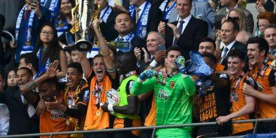 Luego de ganar la Championship League, Hull volvió a la categoría de honor Foto:Getty Images