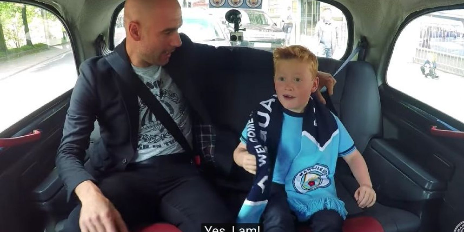 Sin embargo, el club lo sorprendió y lo juntó con Pep Guardiola Foto:Captura de pantalla