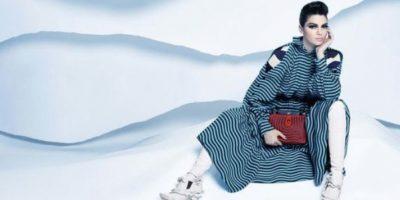 Kendall Jenner luce irreconocible en nueva campaña publicitaria