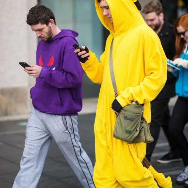 En Estados Unidos Pokémon Go tiene 21 millones de jugadores activos al día. Foto:Getty Images