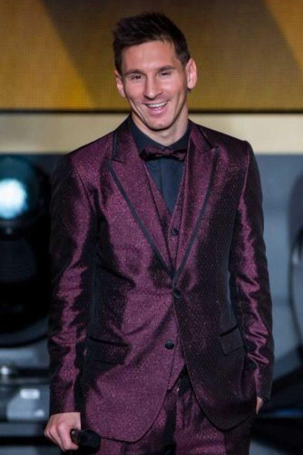 Lionel Messi dejó de ser aquél chico discreto. Ahora, suele sorprendernos con sus looks. Foto:Getty Images