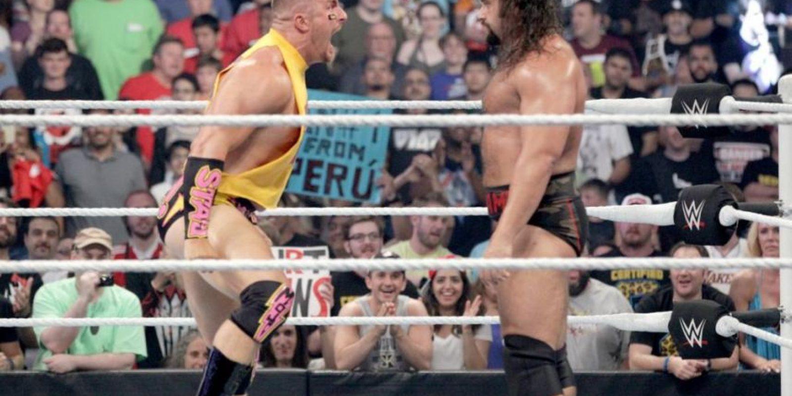 Rusev le pasó por encima a Zack Ryder y retuvo el Campeonato de Estados Unidos Foto:WWE