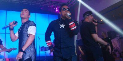 Ilegales durante su concierto el sábado 23 en Hard Rock Café Foto:Fuente Externa