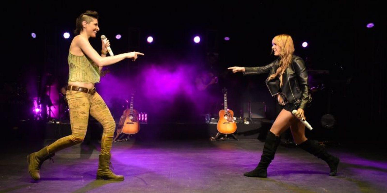 Además de ser hermanas, Ashley y Hanna Pérez están conectadas por su amor a la música. Foto:Fuente externa