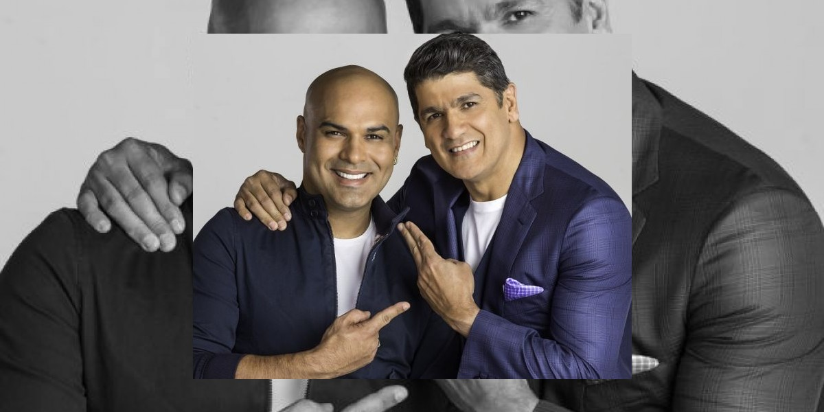 Omar Enrique graba merengue con Eddy Herrera