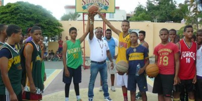 Inauguran Torneo Baloncesto U-15 en San Juan