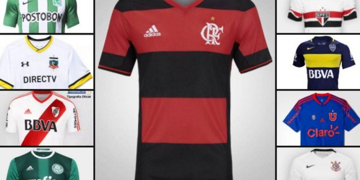 Las diez camisetas más vendidas de Sudamérica