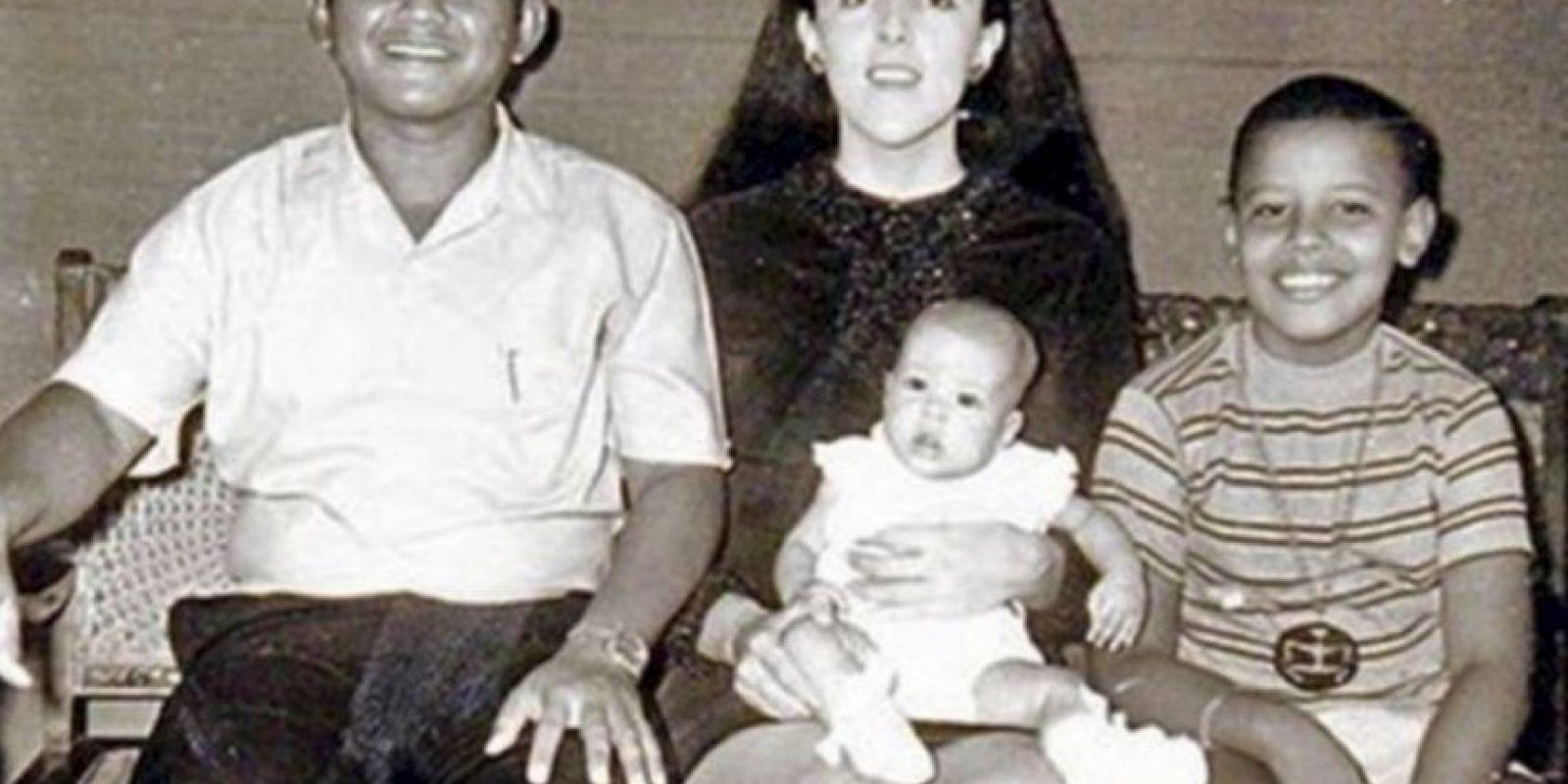 Sus padres se divorciaron cuando él tenía dos años Foto:Facebook.com/BarackObama