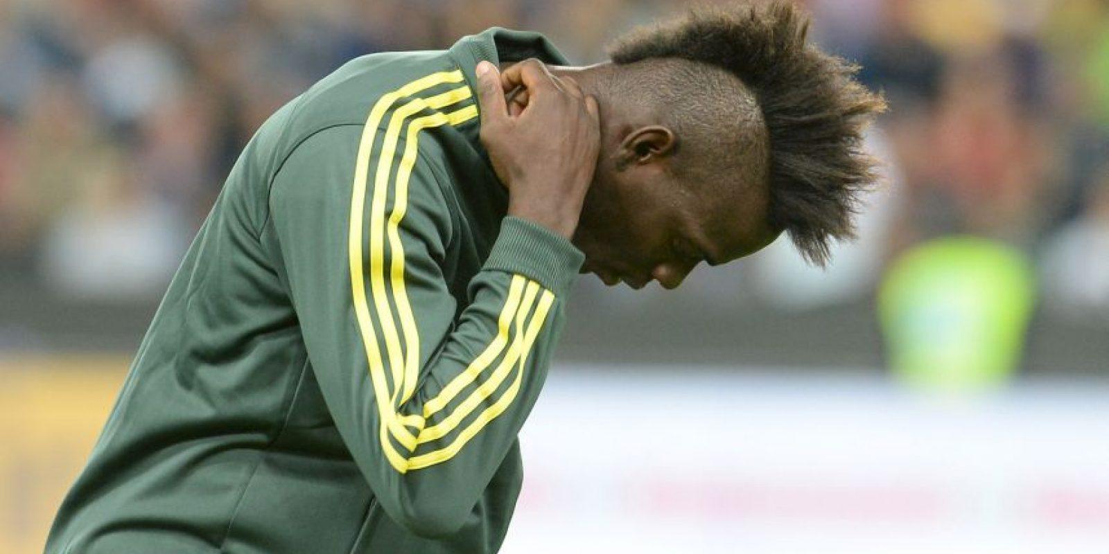 El atacante está entrenando con las reservas y ahora sus polémicas son más recordadas que sus goles Foto:Getty Images