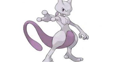 2.- Mewtwo, variación genética de Mewtwo. Fue creado en un laboratorio. Foto:Pokémon