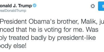 Así celebró el candidato presidencial del Partido Republicano