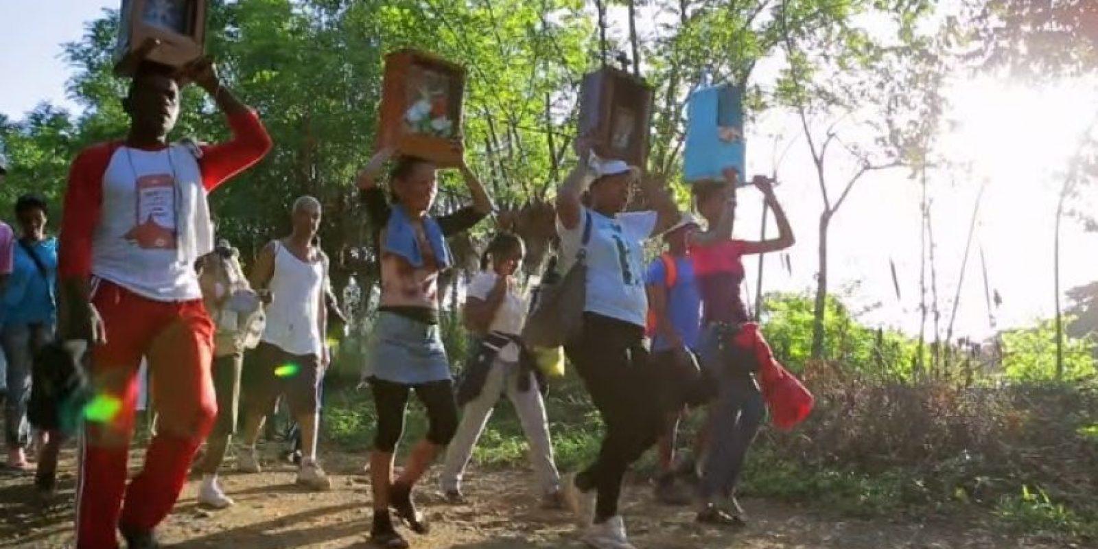 El documental narra una historia de fe del pueblo dominicano. Foto: Fuente externa