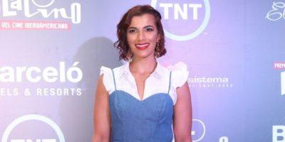 Nashla Bogaert presente en los Premios Platino 2016
