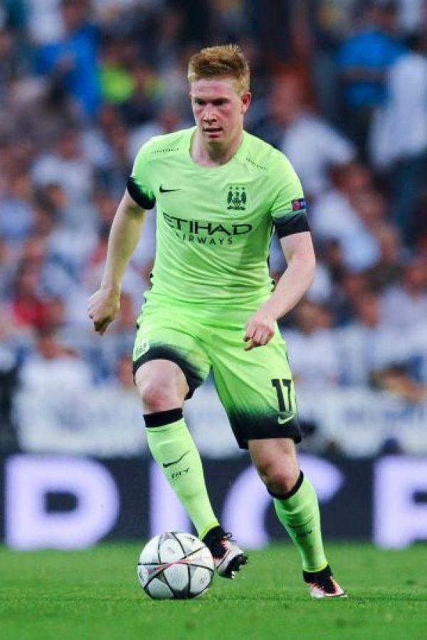 8. Kevin de Bruyne. 75 millones de euros pagó Manchester City a Wolfsburgo, la temporada pasada Foto:Getty Images