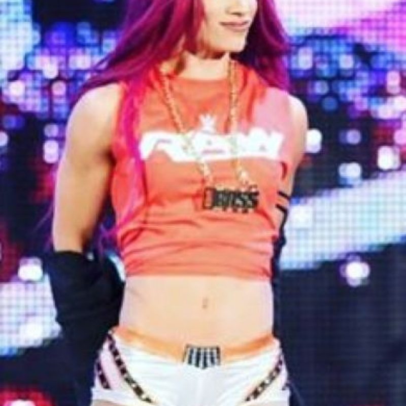 Sasha tiene 24 años Foto:Vía instagram.com/sashabankswwe