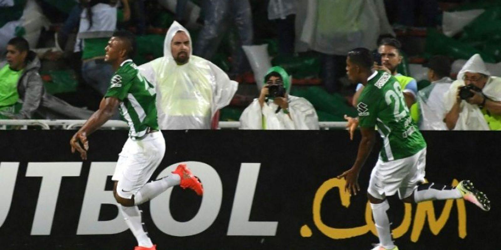 En el partido de ida, Atlético Nacional e Independiente del Valle igualaron a un tanto Foto:AFP