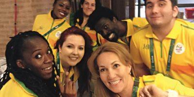 Voluntarios canadienses ya están trabajando en Río. Foto:FACEBOOK