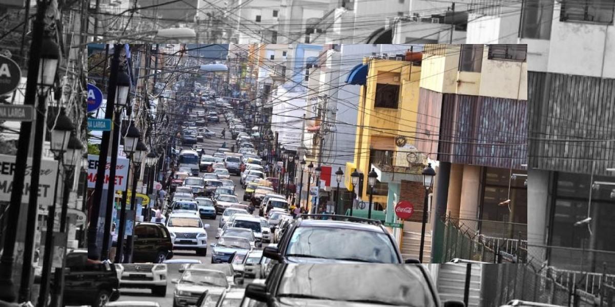 Situación del tránsito en Santiago de los Caballeros es cada vez más caótica