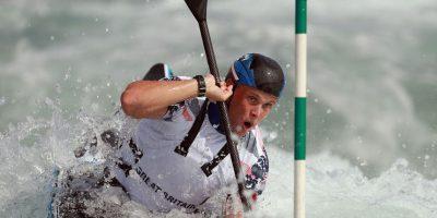 Joe Clark, canoísta británico, fue otro de los que se unió a los reclamos Foto:Getty Images