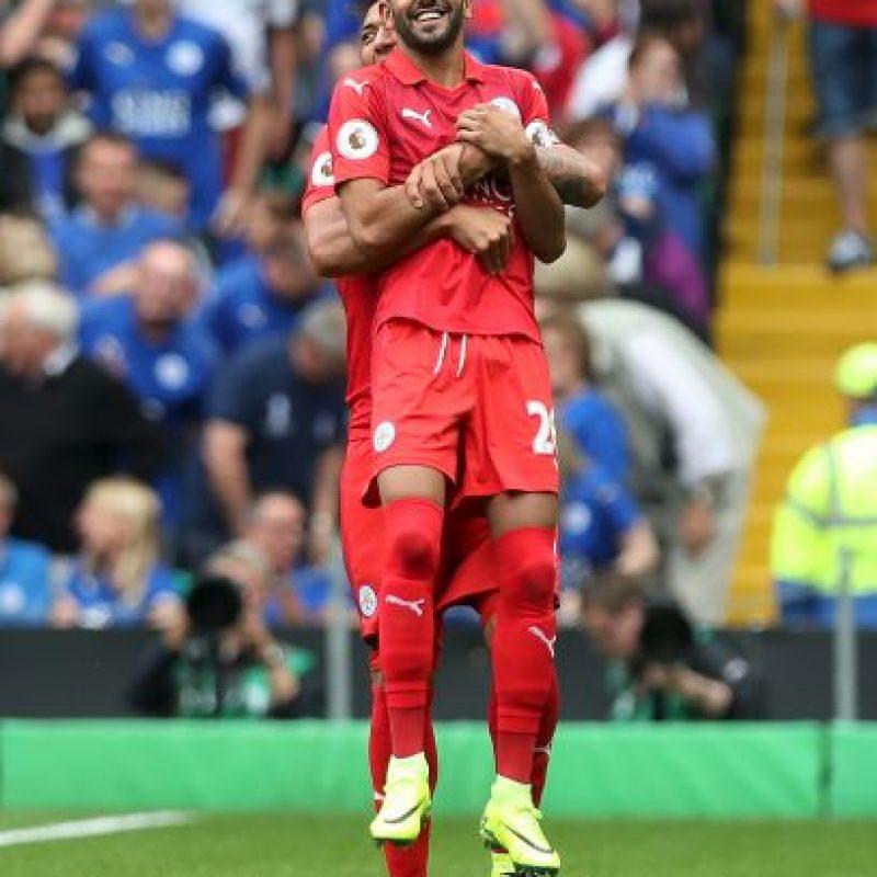 Mahrez está haciendo la pretemporada y hace unos días se despachó un golazo ante Celtic Foto:Getty Images