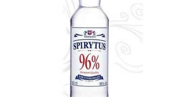 1. Vodka Spirytus Foto:Wikimedia Commons