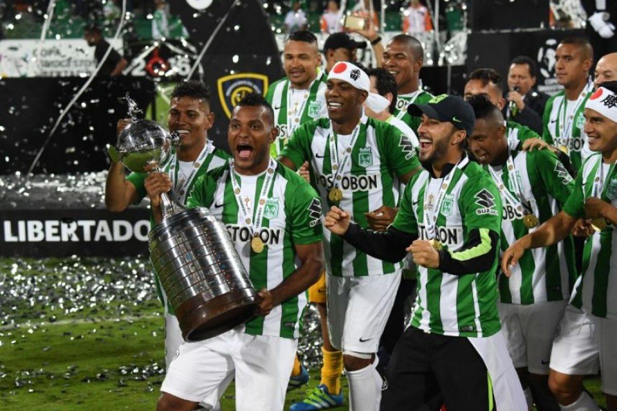 Atlético Nacional se coronó campeón de la Copa Libertadores Foto:AFP