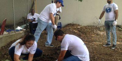 Empleados de Samsung participaron como voluntarios. Foto:Fuente externa