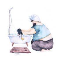 6- Papá también sabe cuál champú tienes que usar a la hora del baño. Foto:Metro