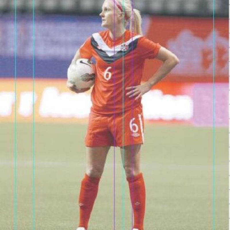 9- Kaylyn Kyle. La histórica futbolista canadiense sólo fue convocada como reserva, por lo que dijo que no. Foto:Fuente externa