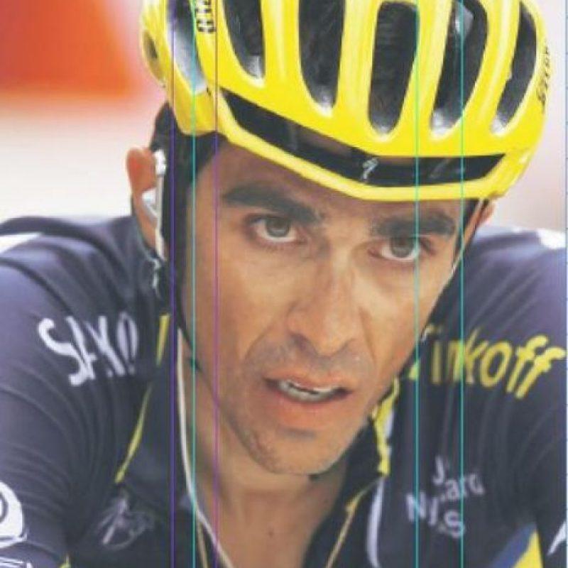 10- Alberto Contador. Múltiples lesiones sacaron al ciclista español del Tour y de Río. Foto:Fuente externa