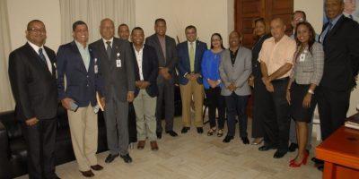 Nuevas autoridades EDESUR se reúnen con autoridades San Cristóbal