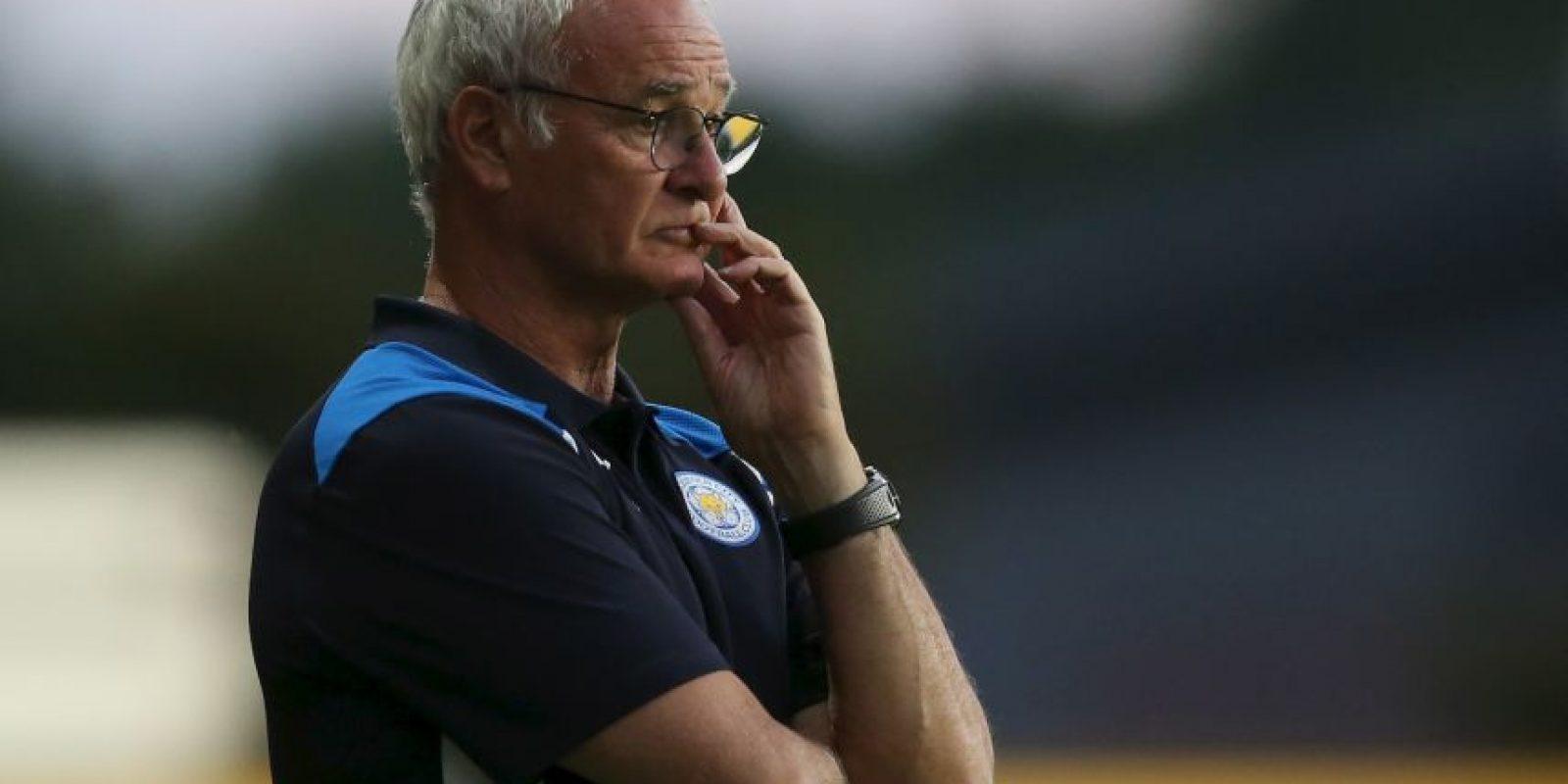 8.- Claudio Ranieri (Leicester) Foto:Getty Images