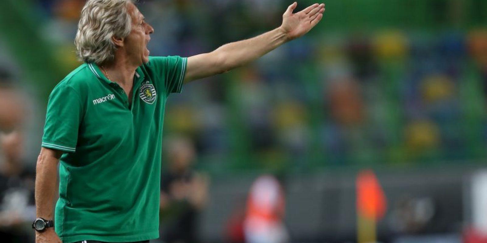 10.-Jorge Jesus (Sporting Lisboa) Foto:Getty Images