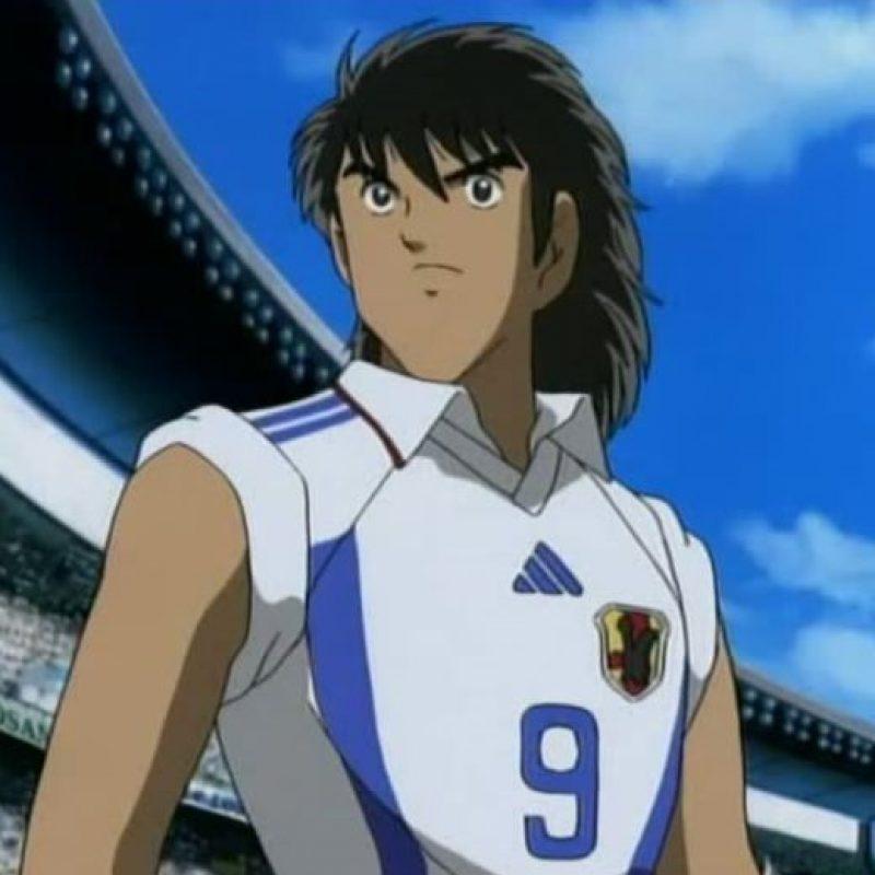 Steve Hyuga. Goleador nato, que llevó a la Selección de Japón a la cima del fútbol Foto:Twitter