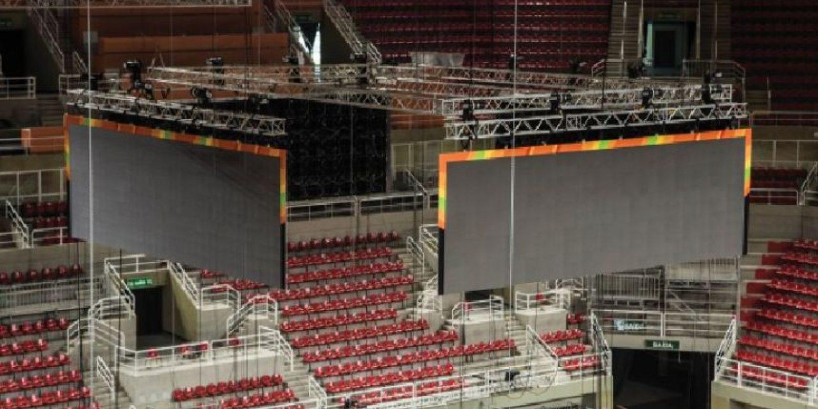 Arena do Futuro será el escenario de las gimnasias artística y rítmica, entre otras competiciones. Foto:Fuente Externa