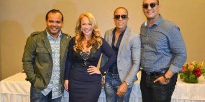 """Chiquito Team Band y Miriam Cruz  con """"el junte del año"""""""