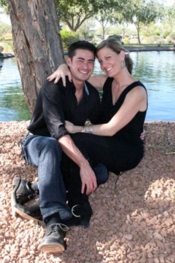 Con su nueva mujer. Foto:Getty Images