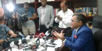 Tommy Galán denuncia construcción ilegal de vertedero en comunidad de San Cristóbal