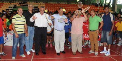 Garrido y Bastardo sorprenden en inicio del II Torneo Nacional de Bádminton