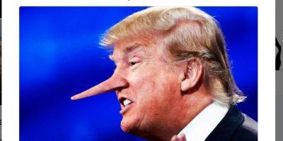 """Liar Liar"" (mentiroso, mentiroso) Foto:Twitter.com"