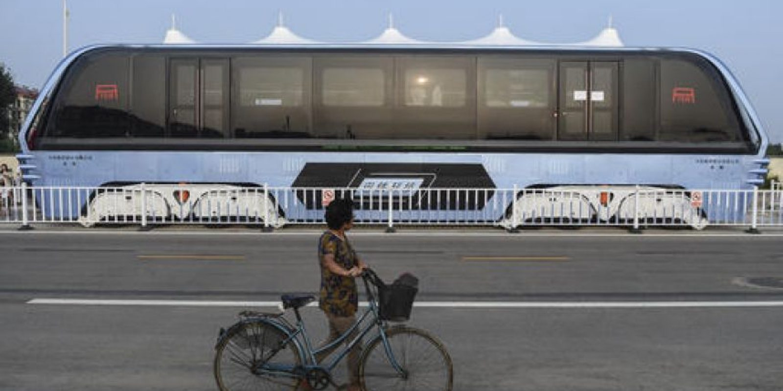 Podrá reemplazar a 40 autobuses Foto:AP