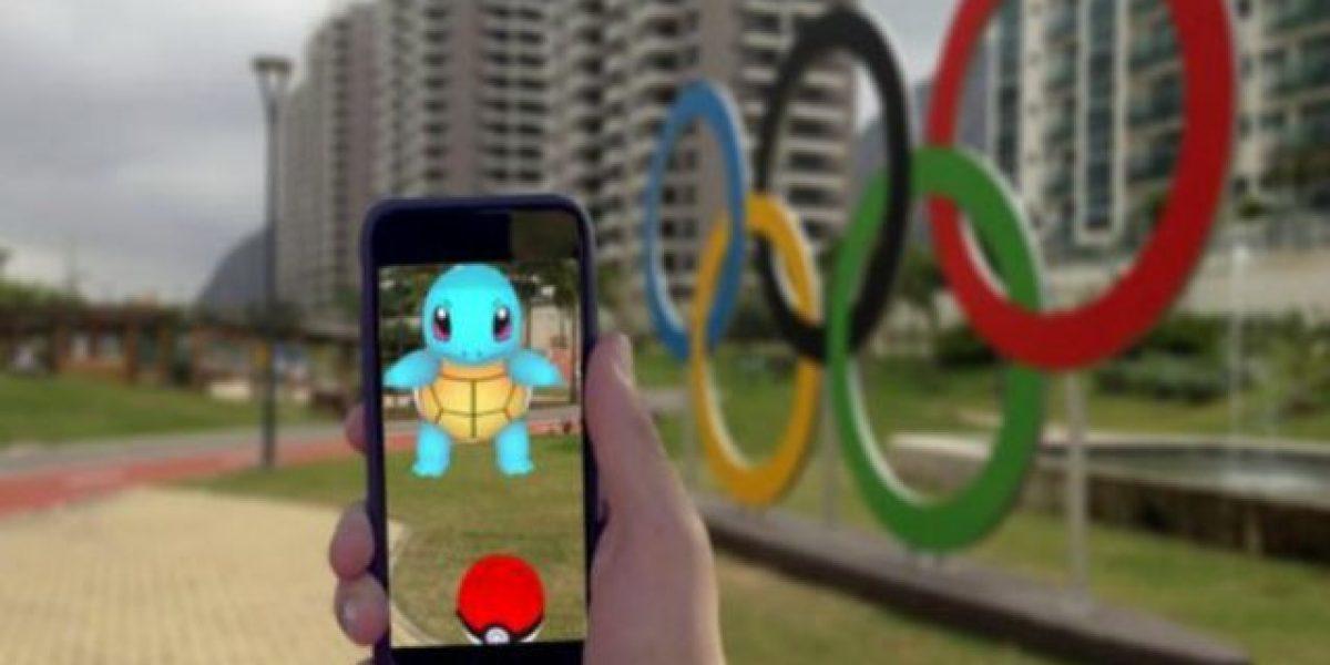 Atletas piden Pokémon Go en la Villa Olímpica