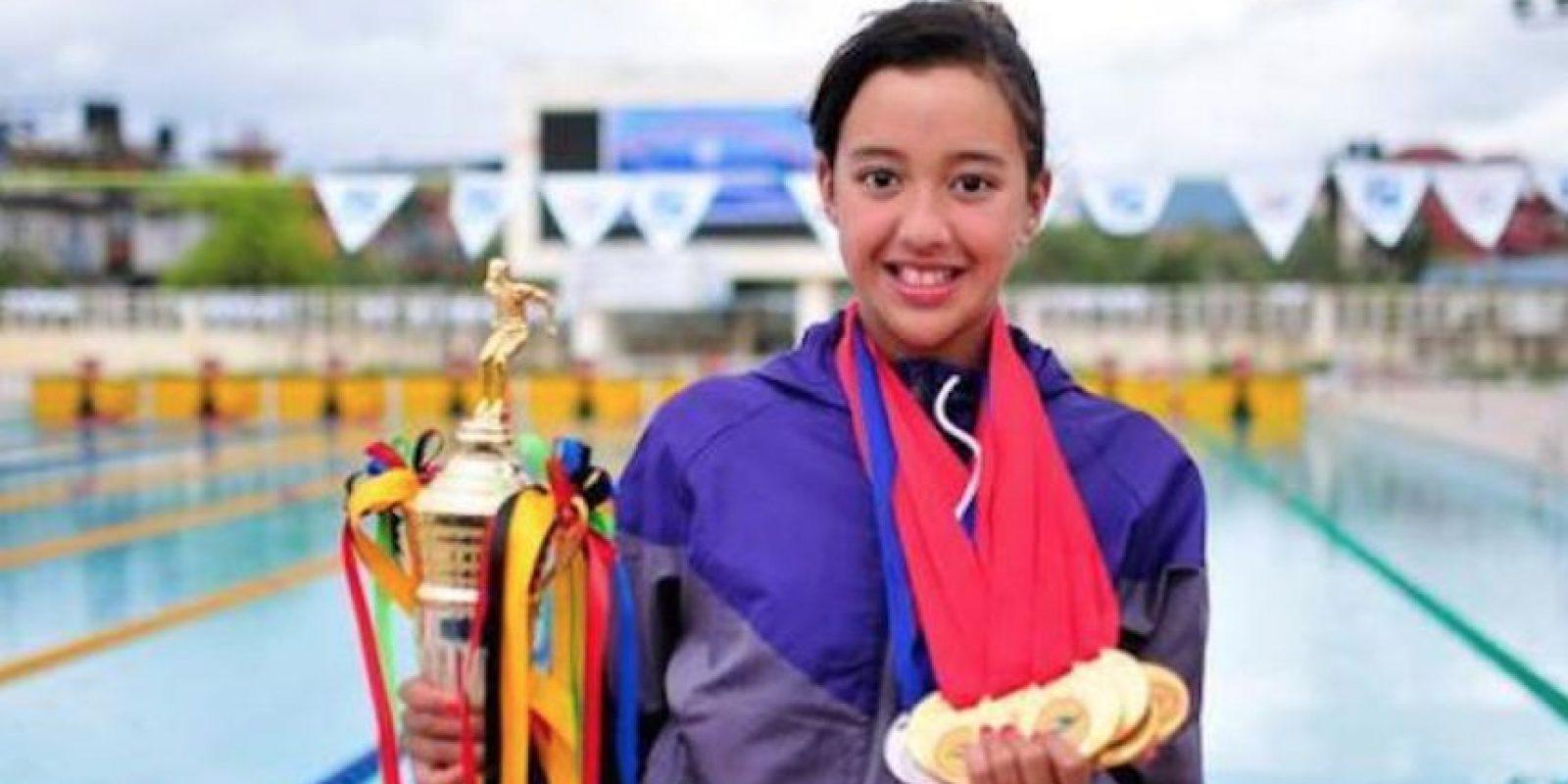 Gaurika Singh es la deportista más joven que participará en Río 2016 Foto:rio2016.com