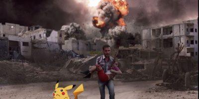 Así se vería Pokémon Go en  Siria